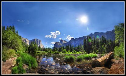 Serenity - Yosemite Valley III by fr1gidity