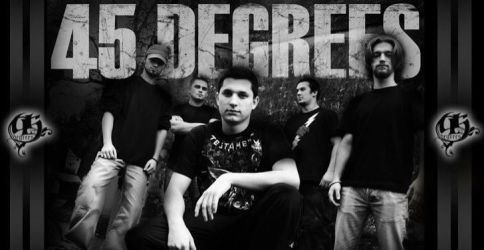 my band '45 Degrees' by SpaceBishop88
