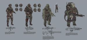 Infantry Concepts by L3monJuic3