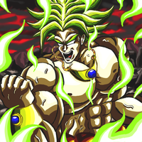 LSSJ Broly Full Power by OtaconIII