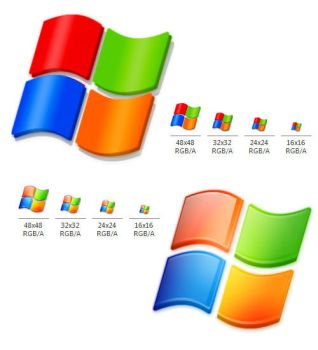Windows System Logo Icons by seanauicons