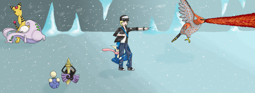 Ice battle by Vany-Chan