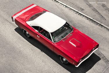 Red 1968 Dodge Super Bee by AmericanMuscle