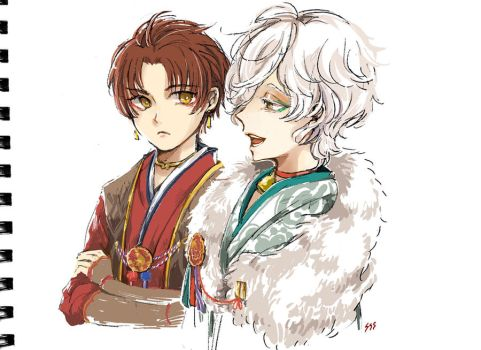 The young princes of Kuyo by sawa-rint