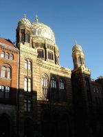 New Synagogue by Sherrue