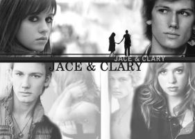 City of Ashes Jace and Clary by bluesthour