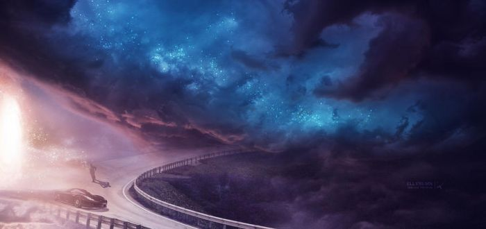 Gate to Infinity by Ellysiumn