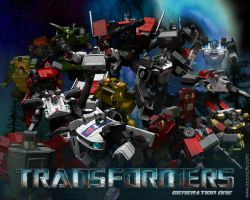 Generation One: Autobots by elgoodo7