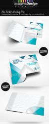 File Folder Mockup V2 by idesignstudio