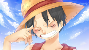 Mugiwara no Luffy by Alisian
