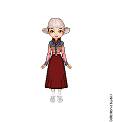 Martina 'Marty' McFly 1885 by LolaScheving