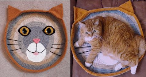 Cat Bed by AmaniWarrington