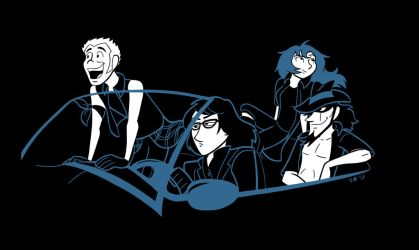Lupin Gang Regalia by lilminette