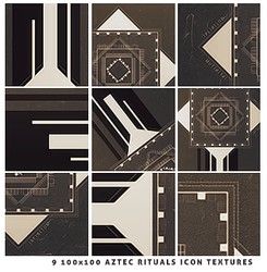 Icon Textures #1 | Aztec Rituals by itsmorphine by itsmorphine