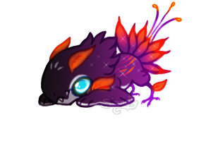 [CLOSED] Nightfalls Flower Jolleraptor DTE Raffle by PlXlEDUST