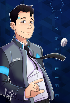 CONNOR | Detroit Become Human by aileenarip