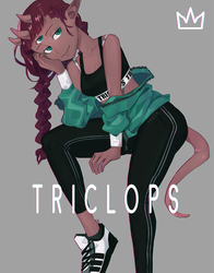 Tower Girls - Triclops by vSock