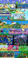 Massive Mario Collaboration by DrZime
