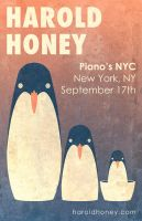 Harold Honey Pianos Poster by MadSketcher