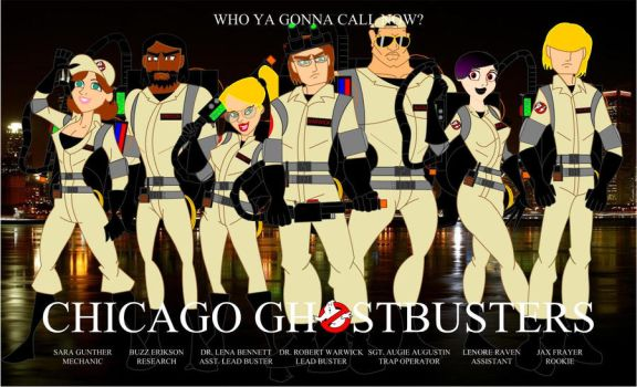 Chicago Ghostbusters by Bort826TFWorld