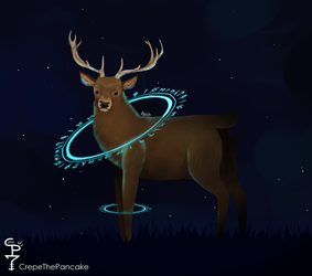 Magic Deer Paint by CrepeThePancake