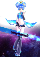 Nova Miku DL! by Kit-Cat-Kisses