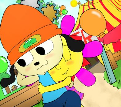 Parappa and Sunny (2015) by MrBda241