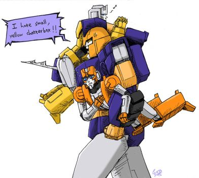 Impactor and his tormentors by eabevella