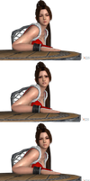 DOA Face Pose Pack 1 (Alt) by Marcelievsky