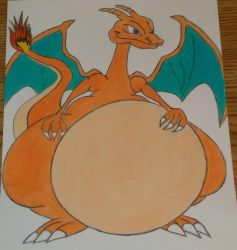 fat charizard (colored) by revrunner1993