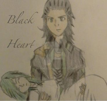 Gift: Black Heart ~ written by Destiny111 by Boo-mite