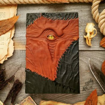 Brown patch necronomicon by MilleCuirs
