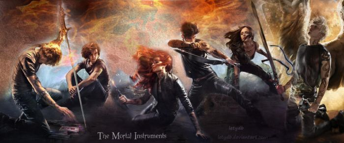 The Mortal Instruments new covers by letydb