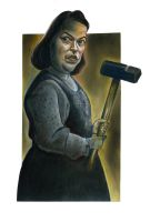 Kathy Bates in Misery by Caricature80