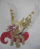 Lauren Faust Empress (hand drawn) by konadh324