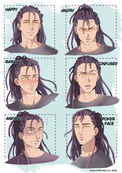 Xavien expressions by FanasY