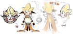 Scribble - Reference Sheet by Neptune-san