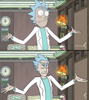 rick expressions / scene redraw by nogoodverybad