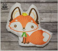 FOR SALE Fox pillow by MalinaToys