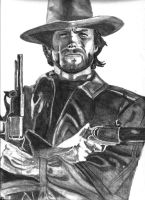 Clint Eastwood by Dabull04