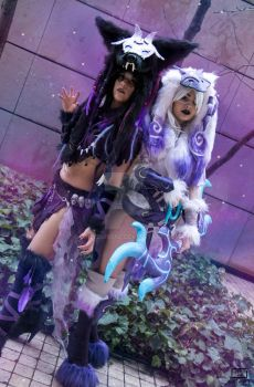 Never one... Without the other - Kindred cosplay by LadySundae