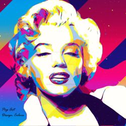 Marilyn Pop by MaryCapogna