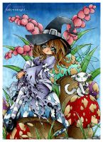 coloring.. mushroomsNhalloween by lady-midnight27