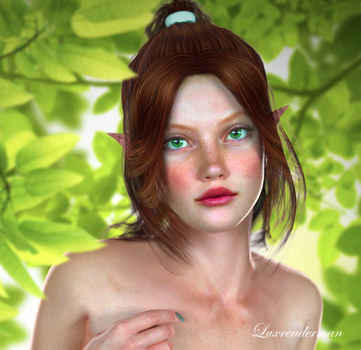 Forest Photoshoot 2 Detail by luxrenderman