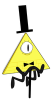 Bill Cipher by greatlucario