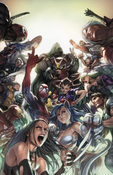 MARVEL vs CAPCOM 3 - STEELBOOK by alvinlee