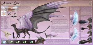 Ref Sheet Comish - Avarus Lux by TwilightSaint
