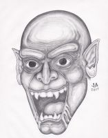 Nosferatu Pencil Sketch by JesseAllshouse