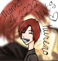 Thanks for 2222 by Lizchan33
