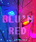 BLU'N RED COVER by Potentissimum